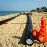[أقوكلتثر] [ب] يعوم شبكة قفص بعيد عن الشّاطئ بحث يزرع