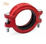 Good Quality Grooved Pipe Fitting Rigid Coupling with UL FM Certificate