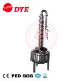 Acero inoxidable/equipos de destilación del hogar de cobre/destilador casero