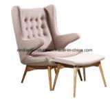جوزة يثنّى خشبيّة بلوط وقت فراغ [نورديك] أسلوب أريكة كرسي تثبيت