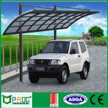 Carport portátil e Carport do modilhão do telhado do policarbonato