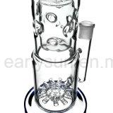 De Rokende Waterpijp van het Glas van Perc van de Recycleermachine van het Ei van Fab voor Levering voor doorverkoop (S-GB-238)