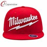 La moda Hip Hop de Milwaukee Snapback Tapa con bordados de Ocio