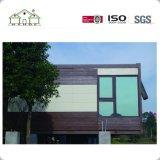 Casa prefabricada del envase del acero ligero de alta resistencia