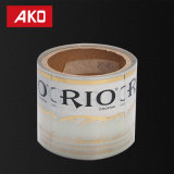 Etiqueta engomada auta-adhesivo Rolls de la capa de encargo de la talla BOPP conveniente para la escritura de la etiqueta del vino