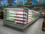Supermarkt-Molkereibildschirmanzeige-geöffnete vordere Kühlvorrichtung