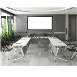HPL lamellierter ausbildentisch für Trainings-Konferenzsaal mit Tisch-oberstemfaltbarem