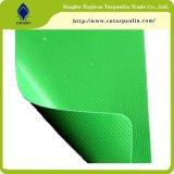 Grauer Vinylgewebe-Belüftung-und Plane-Schutz-Plane-LKW