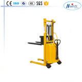 De Reeks 1 Ton 1.6m Hoogte Forklift&#160 van Dyc; Semielectric Pallet Stapelaar