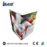 Qualität LCD-videoweihnachtskarte mit der Kamera