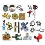 Divers coupleurs et accessoires en acier matériels d'échafaudage