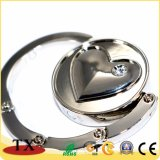 Gancho de leva plegable grabado dimensión de una variable de encargo de la percha del bolso del corazón