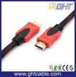 2 м кабель HDMI высокого качества с помощью нейлоновой оплетки, 1,4 В (D001A)