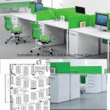 사무실 책상 워크 스테이션 사무실은 워크 스테이션이로 칸막이실을 주문을 받아서 만드는 직원, 사무용 가구 직원 테이블을 분할한다