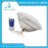 2018 luz subacuática profesional de la piscina de la lámpara LED de la iluminación 12V PAR56