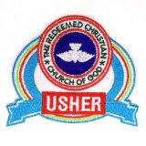 Escrituras de la etiqueta bordadas aduana para los uniformes