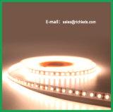 LEDの屈曲Strip/12VDC/Siliconの袖の防水の及び接着剤によって密封される暖かい白