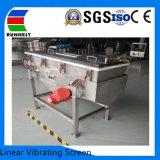 Linearer vibrierender Bildschirm für keramischen Sand-Produktionszweig Ra1040