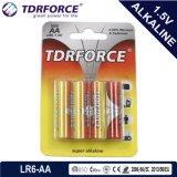 Alkalische Batterij van de Fabriek van China van Mercury&Cadmium de Vrije ultra (9V/9 VOLT/6LR61)