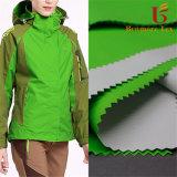 320d tecido de nylon taslan com revestimento de PU respirável para casacos de esqui