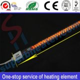 Elemento riscaldante infrarosso di secchezza del riscaldatore del tubo del quarzo