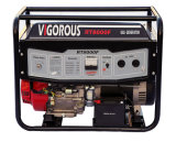 Inizio di alta qualità ed equipaggiamento di riserva elettrici di ritrazione 7500 watt di generatori del gas per uso domestico