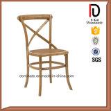 판매를 위한 좋은 품질 상한 X 십자가 뒤 식사 의자