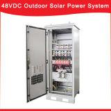 im Freien SolarStromnetz 48VDC mit MPPT Solarladung-Controller und Entzerrer-Baugruppe