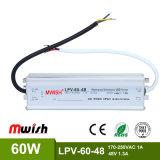Konstante Schaltungs-Stromversorgung IP67 der Spannungs-48VDC 1.3A 60W LED wasserdichte