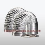 El conducto flexible de aluminio de tubo (hh-hh-B).