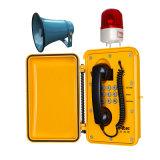 Экстренной эвакуации трансляции громкоговорителя туннеля телефон VoIP аналоговых факультативного