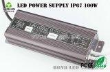 IP67 impermeabilizzano l'alimentazione elettrica a una uscita di commutazione del LED 5A 12V 100W