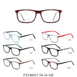映像の接眼レンズフレームの光学卸し売り準備ができた標準的なアセテートEyewear (FX180411)