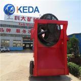 Nueva condición y tipo de separador magnético de la planta de lavado de oro
