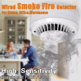 GSM/PSTN Alarm System Smoke SensorのためのワイヤーFireかSmoke Detector