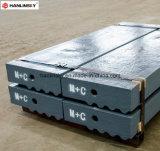 Hoog-bestand Martensitic Staal MMC de Staaf van de Slag met Keramiek
