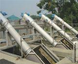 O sistema de filtro de tambor rotativo para a circulação de água