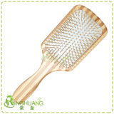 Pádel madera cepillo de pelo
