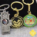 Os fabricantes da China Metal Personalizado Unicorn Keyring para Loja Dom