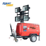 空港9m Hydraulic Telescopic Mast Portable Light Tower