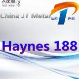 Haynes 188 nikkel-Basis de Pijp van de Plaat van de Staaf van de Legering
