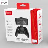 Regolatore di Ipega Pg-9069 Bluetooth Gamepad con il Touch-Pad, vibrazione del motore, Turbo, funzione di programmazione di Marco per il PC di Windows e del Android