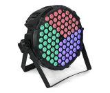 Nuevo control de ventilador de aluminio de 84pcs etapa RGB de iluminación LED Iluminación Discoteca Luz PAR