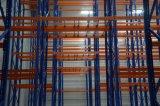 Rayonnages de stockage multiniveau Double Palette profonde rack acier utilisez Q235