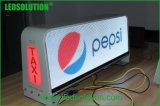 P5 sans fil Couleur recto-verso Taxi haut affichage LED
