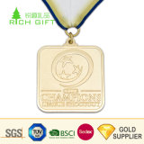 Medaglia di oro in bianco su ordinazione del campione della lega di baseball di sport del metallo del rifornimento della fabbrica per i vincitori