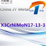 X3crnimon17-13-3 de Pijp van de Plaat van de Staaf van het roestvrij staal