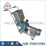3000L/H sanitaires de la pompe à lobes rotatifs en acier inoxydable pour le miel et de la nourriture