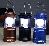 Camping LED linterna solar linterna recargable Linterna Luz al aire libre, plegables para situaciones de emergencia, el huracán, un corte eléctrico