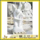Goedkope Marmeren Grafstenen voor het Standbeeld van de Begraafplaats